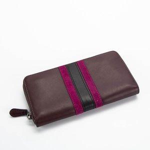 COACH Leather Bi-Fold Wallet